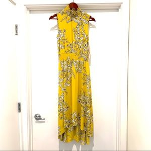 Nanette Lepore Golden Cypress High Low Dress NWT-4